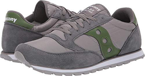 Saucony Originals Men's Jazz Low Pro Grey/Green/Green 14 D US D (M)