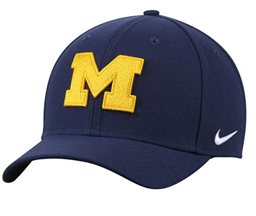 NIKE Michigan Wolverines Wool Classic Performance Adjustable Navy Hat