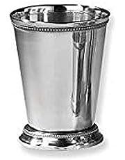 "Elegance Beaded Mint Julep Cup - 12 oz. - 4 1/2"""