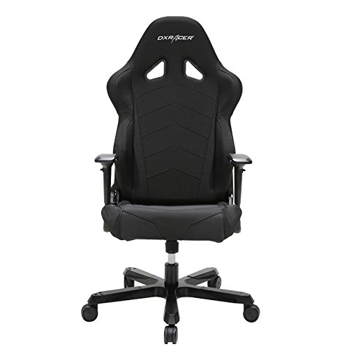 DXRacer OH/TS30/N Tank Series Black Gaming Chair - Includes 2 Free Cushions