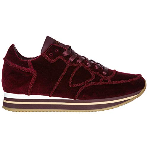 Model Tropez Scarpe Nuove Philippe Donna Originale Bordeaux Sneakers srdCBthoQx