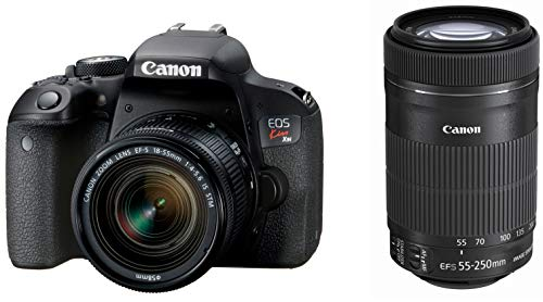 (Canon digital single-lens reflex camera EOS Kiss X9i double zoom kit EF-S18-55mm / EF-S55-250mm included DIGIC7 equipped--(Japan Import-No Warranty) )