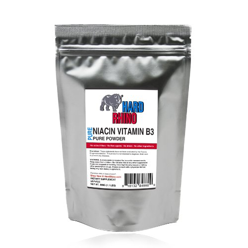 Niacine Vitamine B3 de poudre en vrac pur. (125G)