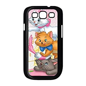 Samsung Galaxy S3 9300 Cell Phone Case Covers Black AristoCats Fiem