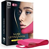 H-Art Chin Up Patch, V line, Double Chin Reducer, Face Lift, Contour Lifting Firming Moisturizing...