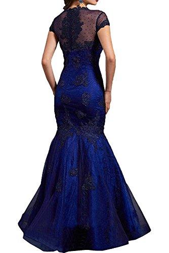 Brautmutterkleider mia Abendkleider Meerjungfrau Dunkel Braut Langes La Figurbetont Gruen Dunkel Ballkleider Festlichkleder Fuchsia AOqw8WdY