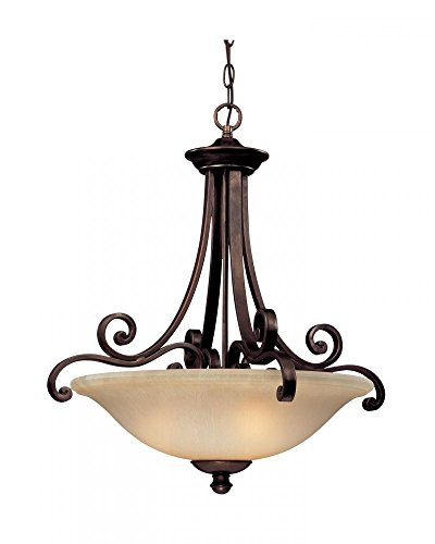 Dolan Designs 1084-207 Brittany 3 Light Pendant, Deep Bronze