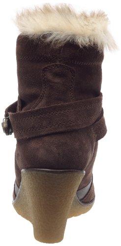 Geox Donna Marcella stivali D13U9S00022C6006 - Botas de ante para mujer Marrón (Braun/Dk Brown)