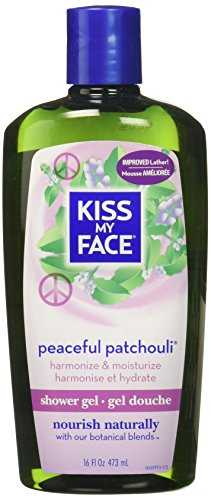 Kiss My Face, Shower Gel & Foaming Bath, Peacefully Patchouli, Harmony, 16 oz