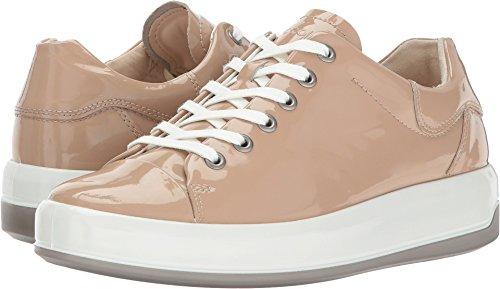- ECCO Women's Women's Soft 9 Tie Fashion Sneaker, Ginger Patent, 39 EU / 8-8.5 US