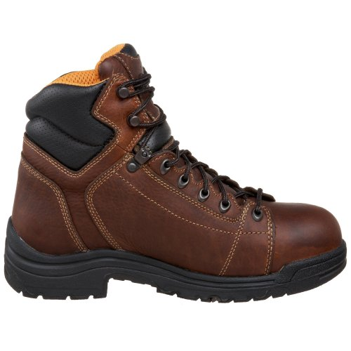 Timberland Pro Mens Titan 6 Lace-to-Toe Safety Toe Boot Haystack Brown