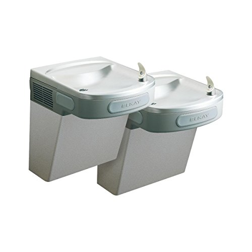 Elkay EZSTL8SC Versatile Cooler Wall Mount Bi-Level ADA Non-Filtered, 8 GPH Stainless