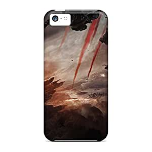 High Grade phone carrying skins Back Covers Snap On Cases For Iphone Impact iphone 5c - godzilla 2014 movie hjbrhga1544