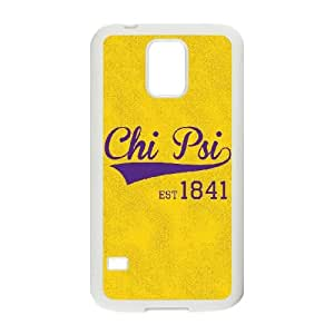 Samsung Galaxy S5 Cell Phone Case White_Yellow Chi Psi 1841 Oyjme