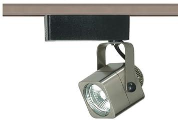 Nckl Nuvo Lighting TH309 Mr16 Round Track Head Pwt Slvr. B//S