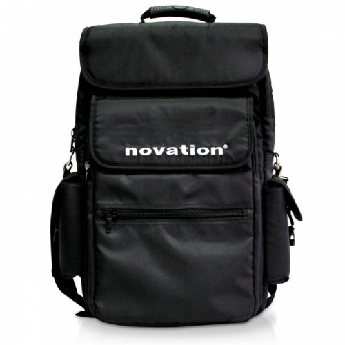Novation 25 Backpack-Style Soft Carry Case for 25-Key MIDI Controller Keyboards, Black from Novation