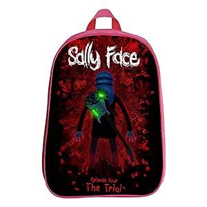 Mochila para Niños Impresión 3D Sally Face Bolsa De Libros A ...