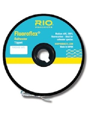 Rio Fluoroflex Plus Tippet - Rio Fly Fishing Tippet Saltwater Tippet 30yd 10Lb Fishing Tackle, Clear