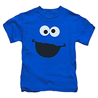 c4f7759f2 Amazon.com: Animation Shops Cookie Monster Face Toddler T-Shirt-2T ...