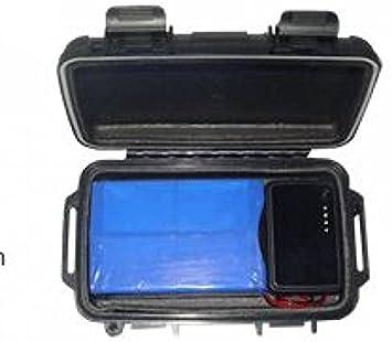 TRACKER LOCALIZADOR ANTIRROBO POR SATÉLITE GPS REAL TIME HAICOM HI602 BATT 23A
