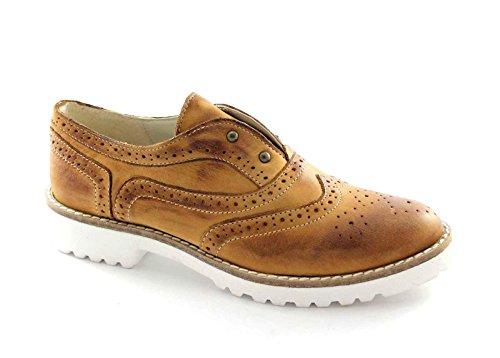 Zapatos Las de Divine Zapatos Ingl Divina VANITY2 de Follie Follie Mujeres Oxford Cuero xS08IS