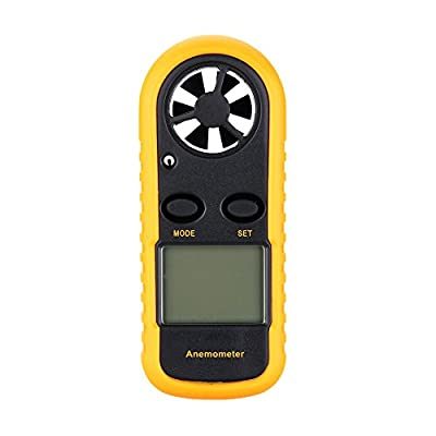 Walmeck Digital Anemometer Measure wind speed and temperature