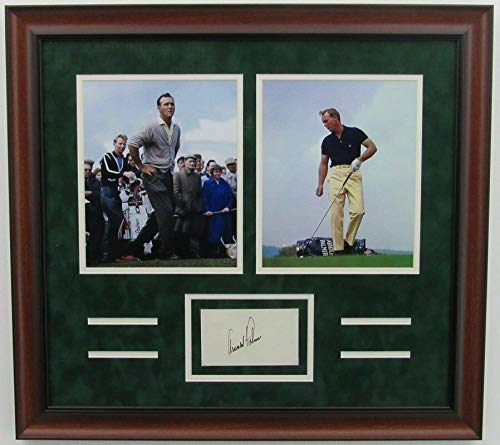 Arnold Palmer Autographed Signed Framed Photo Collage Memorabilia JSA 139691 - Palmer Photo Arnold Signed