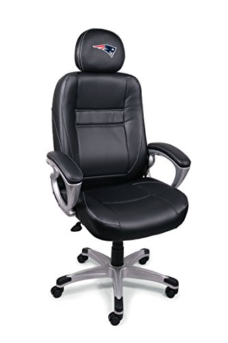 (NFL New England Patriots Leather Office)