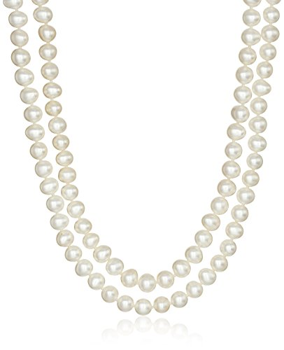 Honora Cultured Pearl Necklace - Honora Endless Rope Freshwater Cultured Pearl Strand Necklace (5-6mm), 80