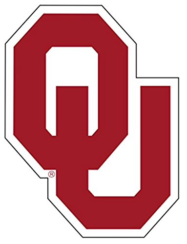 Craftique Oklahoma Sooners Premium Die Cut Vinyl Decal, Yeti ()