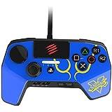 ストリートファイター V ファイトパッド PRO ブルー CHUN-LIデザイン (PlayStation3 / PlayStation4) タッチパッド・ボタン L3 / R3 ボタン LED ライトバー 機能 搭載