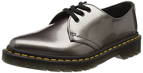 Dr. Martens Dupree, Derby para Mujer Gris (Pewter Spectra Patent)