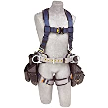 Capital Safety 1108517 ExoFit Construction Style Harness with Tool Pouches, Medium