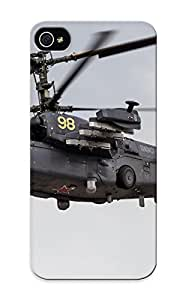 Case Provided For Iphone 4/4s Protector Case Kamov Ka52 Alligator Russian Red Star Russia Helicopter Aircraft Aack Military Army Phone Cover With Appearance