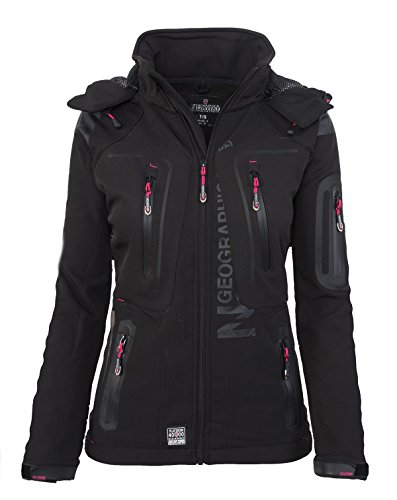 al para Black Geographical libre funcional Softshell Lady Jacket aire mujer Chaqueta Norway nx6wW6qP7p