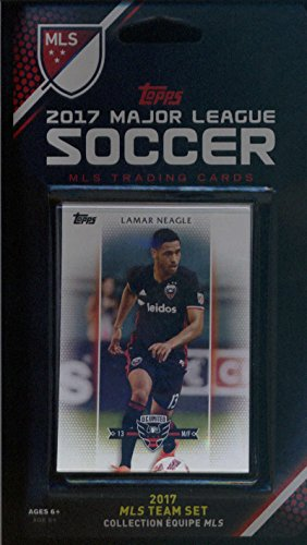 2017 Topps MLS D.C. United Team Set of 7 Cards: Lamar Neagle(M/F), Lloyd Sam(M), Taylor Kemp(D), Pat