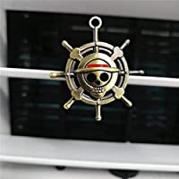 Hongsawat.jawan5612 Luffy Straw Hat Cartoon Air Freshener Clip Car Styling Perfume for Air Condition Vent The One Piece Luffy Straw Hat Pirate Rudder Fans