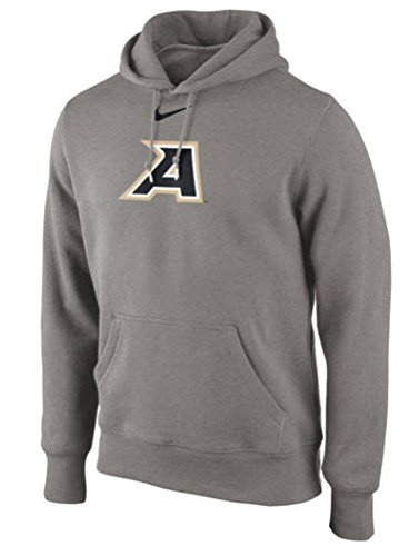 Mens Gray US Army Black Knights Classic Logo Cotton Blend Pullover Hoodie (XX-Large)