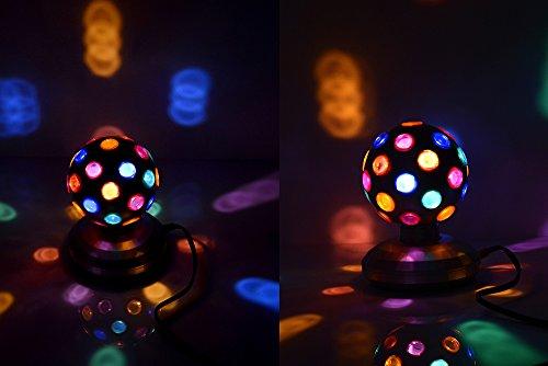 5'' Rotating Disco Ball (Black) by Unido Box (Image #1)