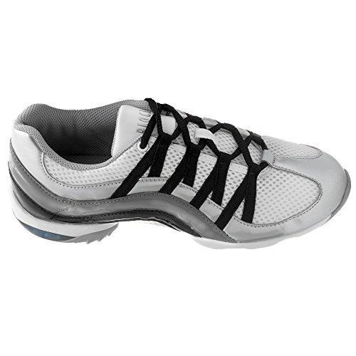 Bloch 523 Sneaker Da Danza Dellonda Argento