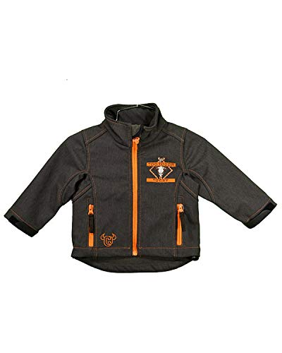 Cowboy Hardware Toddler-Boys Too Tough to Cry Poly Shell Jacket Brown 2T