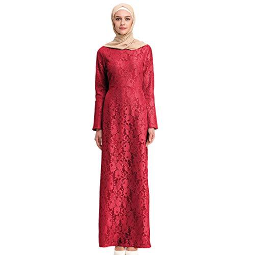 3c8366dadd5 OPTIMIS Muslim Dress Dubai Kaftan for Women Long Sleeve Long Arabic Summer  Printed Elegant Long Dress