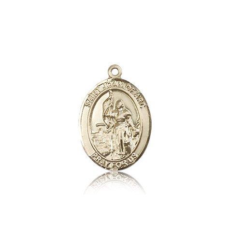 14 ktゴールド聖Joan of Arc medal B008JL3C7U