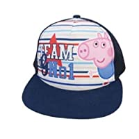 benson Peppa Pig George Baseball Adjustable Cotton Cap Hat Sun Summer Beach Blue