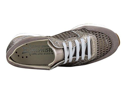 Terciopelo Zapatillas De Deporte Mephisto Marrón Mujer PvwaSHqp
