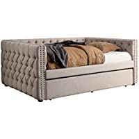 HOMES: Inside + Out IDF-1028Q Donnely Daybed, Queen