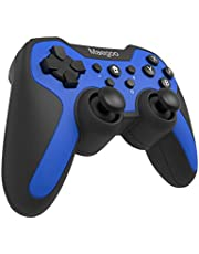 Maegoo Wireless Controller for Nintendo Switch, Bluetooth Remote Wireless Pro Controller Gamepad Joypad Supporting Gyro Axis Function and Dual Shock(Blue)