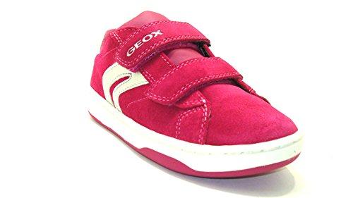 Geox - Botas de Piel para niña Rosa Fuxia Fuchsia