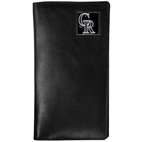 Tall Leather Wallet (Colorado Rockies Mlb Leather)