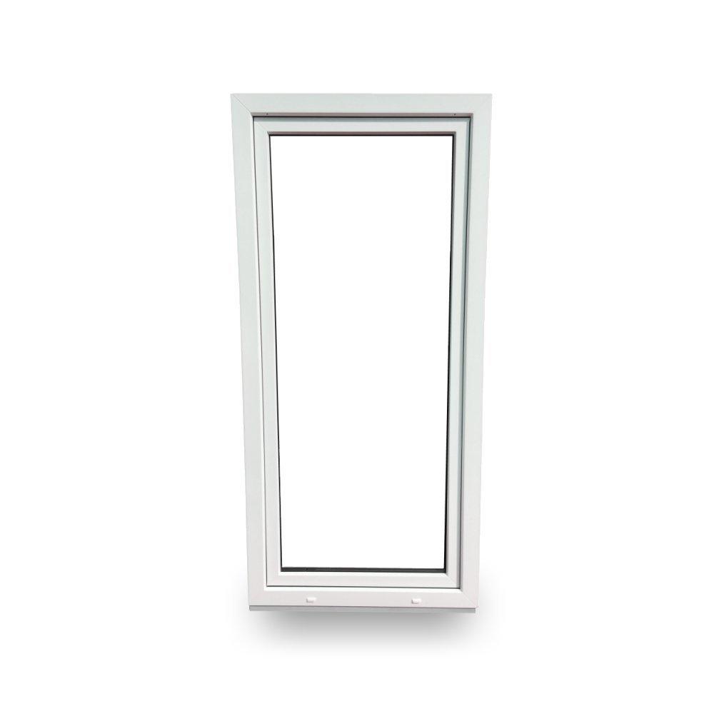 DIN links 3 Fachverglasung BxH: 90 x 200 cm//900 x 2000 mm Kunststoff wei/ß Balkont/ür T/ür